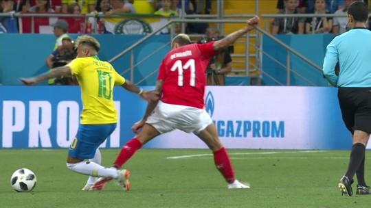 Scout confirma: Neymar luta contra ritmo para acelerar e melhorar segundo tempo