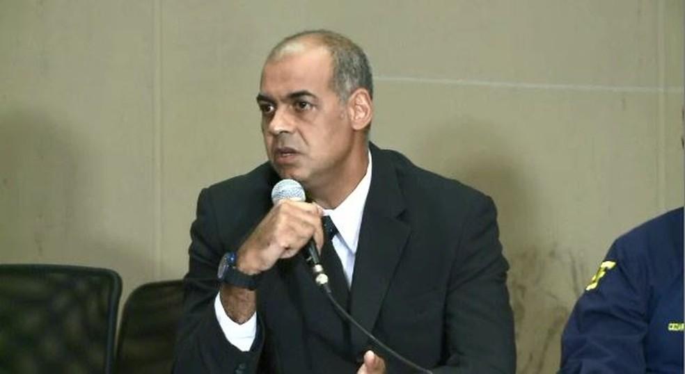 Delegado disse que essa foi a maior apreensão de cocaína no estado do Acre (Foto: Reprodução/Rede Amazônica Acre)