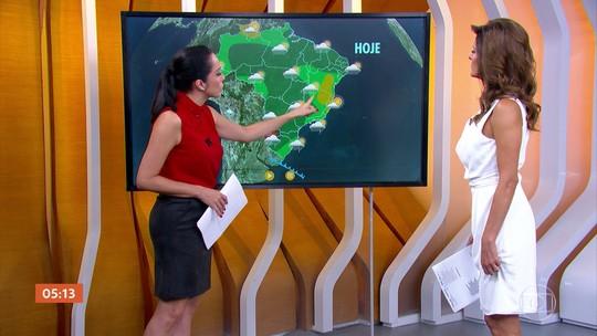 Previsão é de temporal no Sul do país