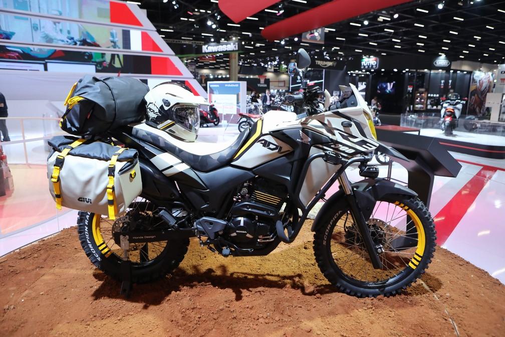 """Honda XRE 300 """"Adventure"""" — Foto: Fabio Tito/G1"""