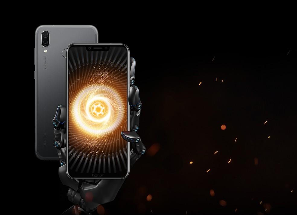 Huawei Honor Play: smartphone gamer tem processador octa-core por € 329 (R$ 1.594, em conversão direta) (Foto: Divulgação/Honor)