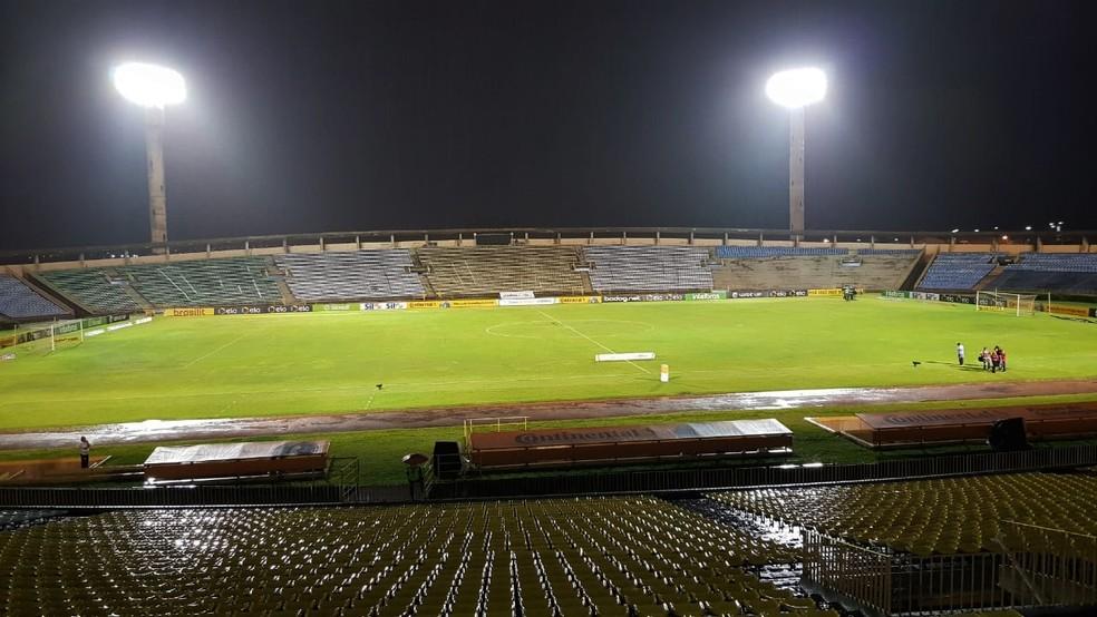 Estádio Albertão, River-PI x Bahia - Copa do Brasil — Foto: Josiel Martins/GloboEsporte.com
