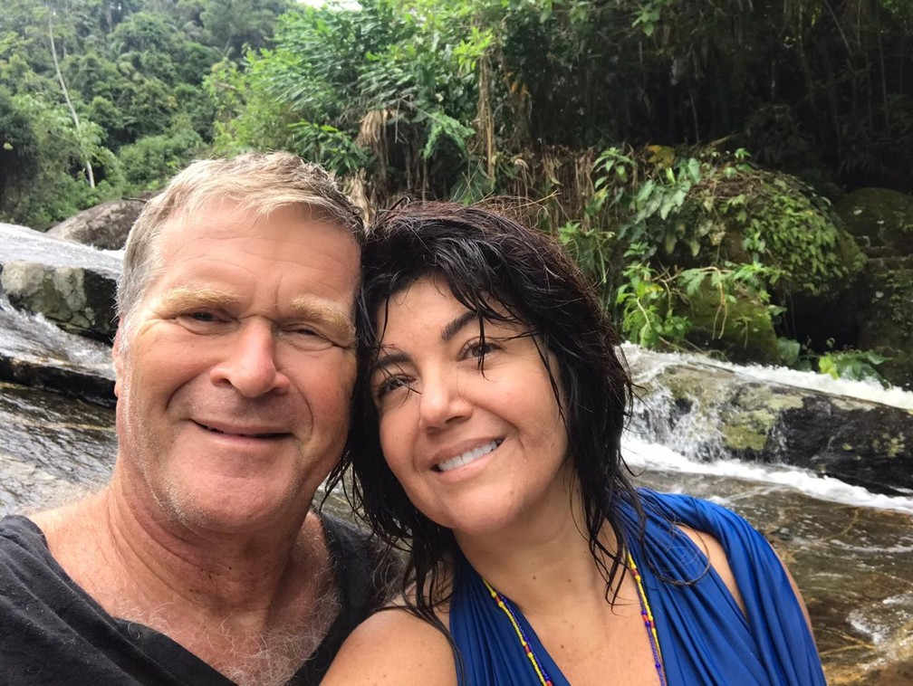 Alfredo Sirkis e a esposa, Ana Borelli  — Foto: Reprodução/Redes sociais