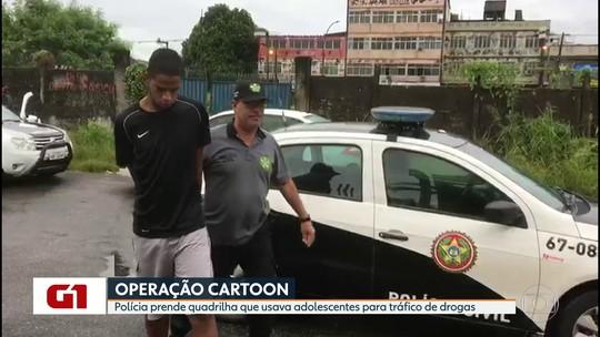 Polícia Civil faz operação de combate ao tráfico de drogas na Baixada Fluminense