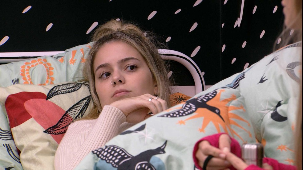 Viih Tube fala para Carla Diaz: 'Foi uma manipulação para você' — Foto: Globo