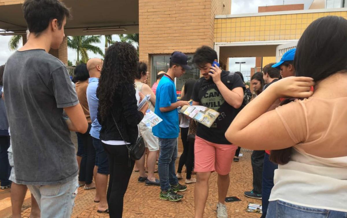 Enem: alunos do DF dizem que esperavam 'até racionamento' no tema da redação