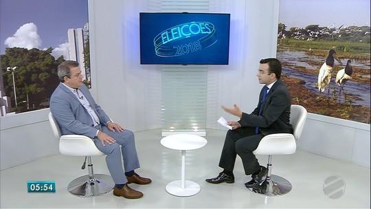 Beto Figueiró diz que vai defender isenção em impostos da cesta básica, medicamentos e não se incomoda em ser a 2ª opção do partido