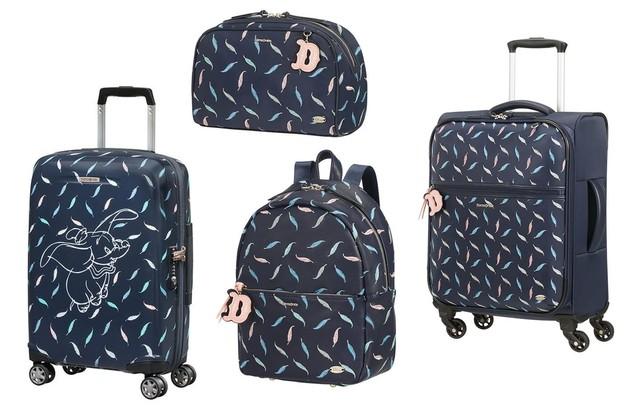 A coleção de malas e acessórios da Samsonite inspirada em Dumbo (Foto: Divulgação)