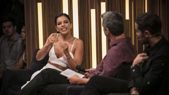 Mariana Rios fala de planos como cantora e ganha homenagem no 'Tamanho Família'