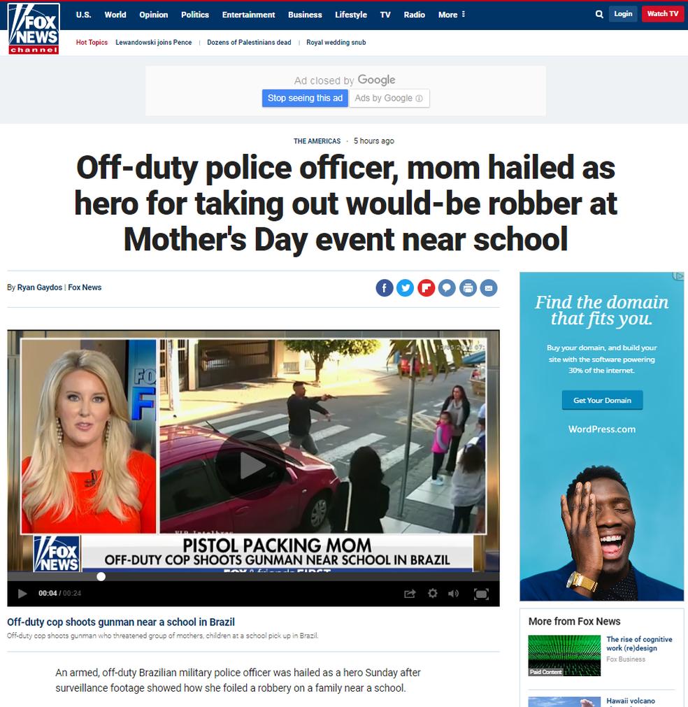 Fox News  (Foto: Reprodução/G1 )