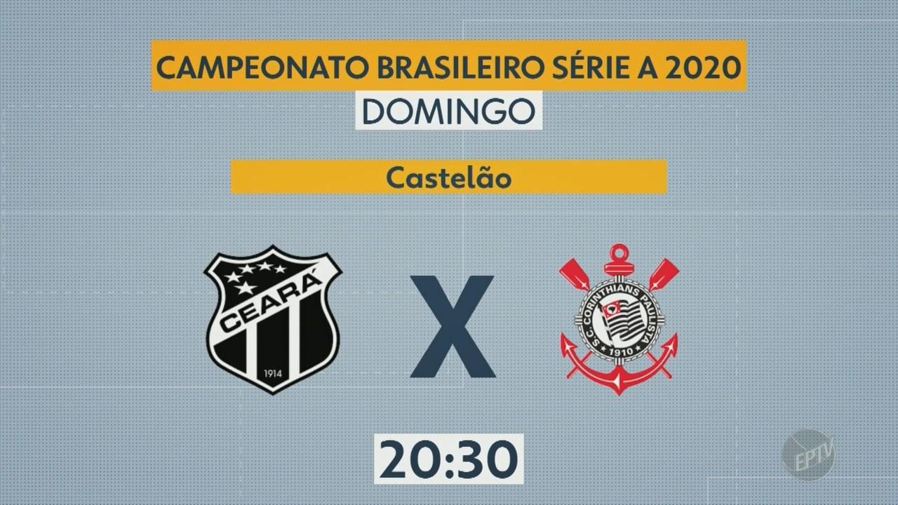 Confira os jogos dos times paulistas em mais uma rodada do Campeonato Brasileiro