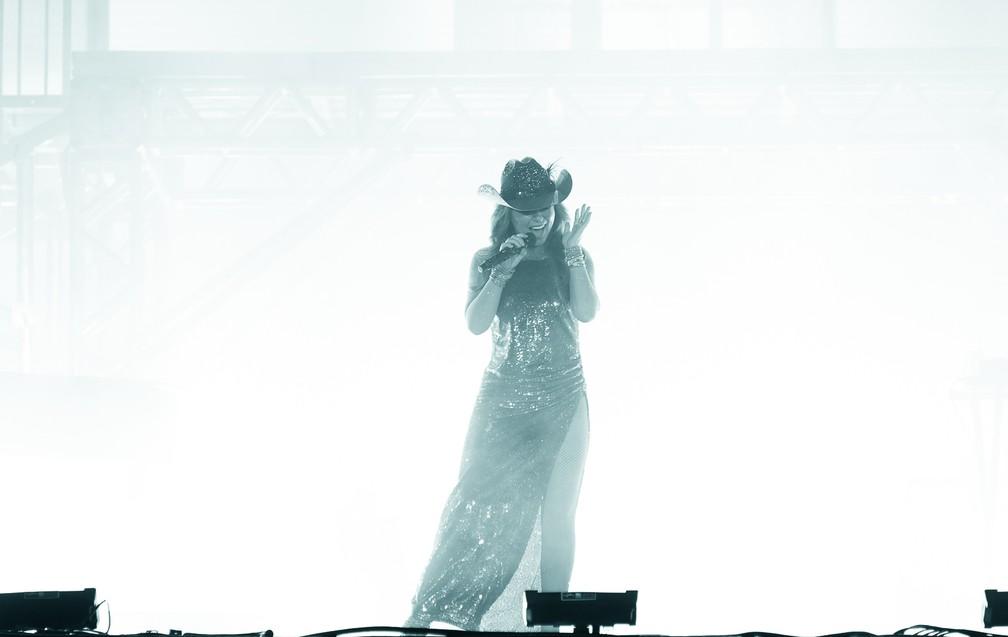 c8dca40b779 ... Shania Twain encerrou a terceira noite de shows em Barretos (Foto   Érico Andrade