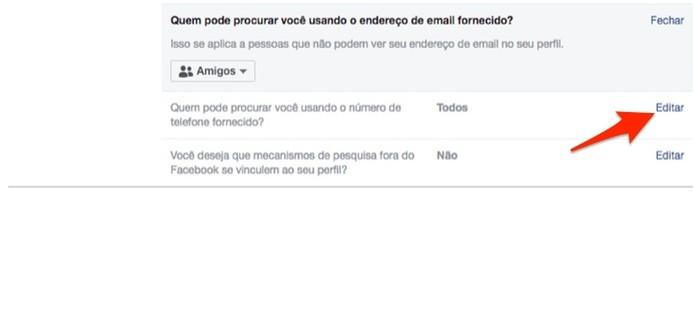Edite a privacidade de um celular vinculado em uma conta do Facebook (Foto: Reprodução/Marvin Costa)