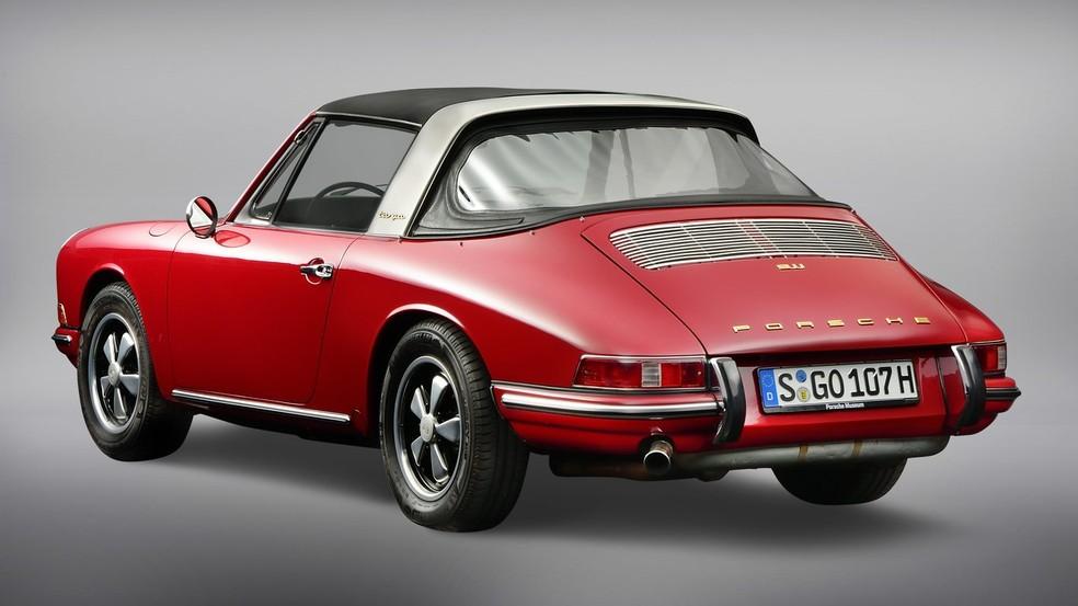 Porsche 911 Targa de 1965 — Foto: Divulgação