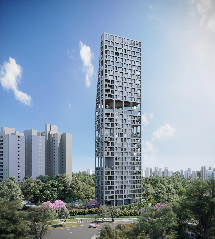 Triptyque assina edifício focado na saúde e na qualidade de vida dos moradores (Foto: Divulgação)