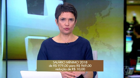 Governo propõe salário mínimo R$ 10 menor em 2018, de R$ 969