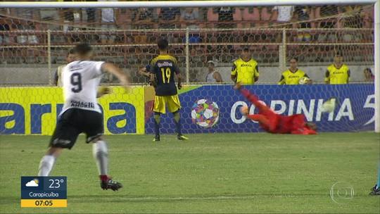 Corinthians se classifica nos pênaltis para as oitavas de final da Copinha