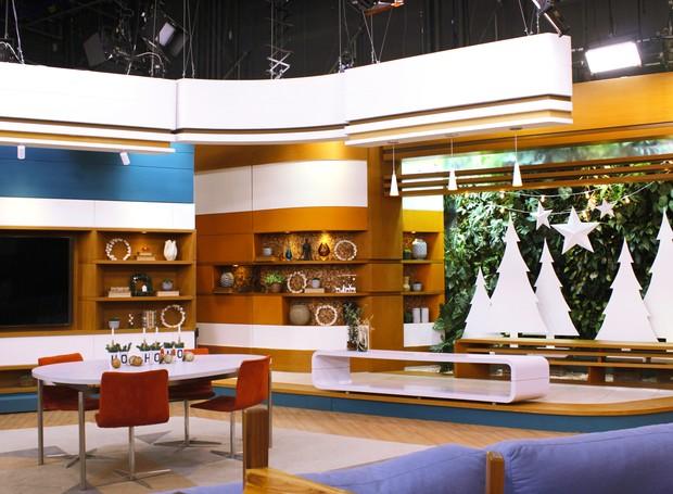 A Casa e Jardim decorou o estúdio do programa Bem-Estar da rede Globo (Foto: Editora Globo)
