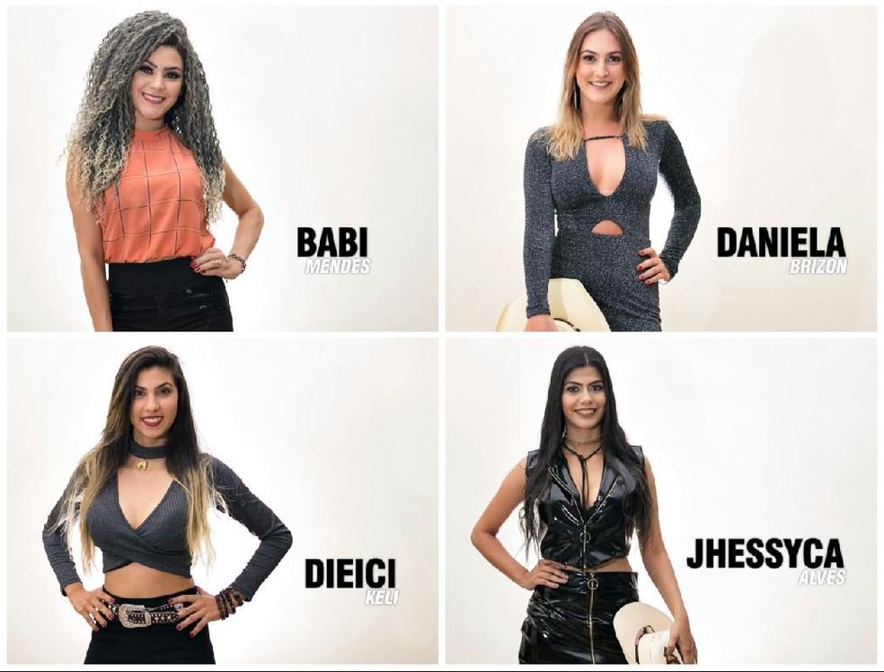 Finalistas do concurso de Rainha da Expoac 2018 (Foto: Arca/ divulgação)