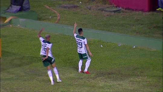 Vídeo: veja o gol da vitória do Palmeiras no Recife