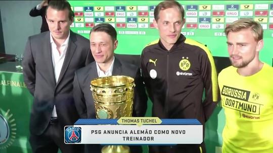 PSG anuncia alemão como novo técnico