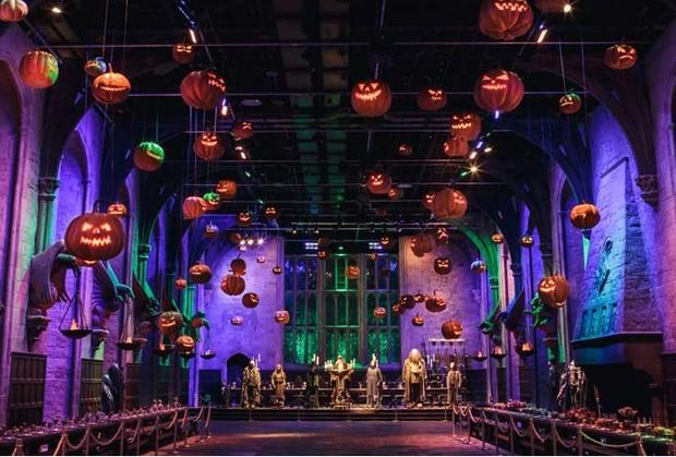Fãs de Harry Potter podem passar o Dia das Bruxas em Hogwarts (Foto: Reprodução / WARNER BROS. STUDIO TOUR )