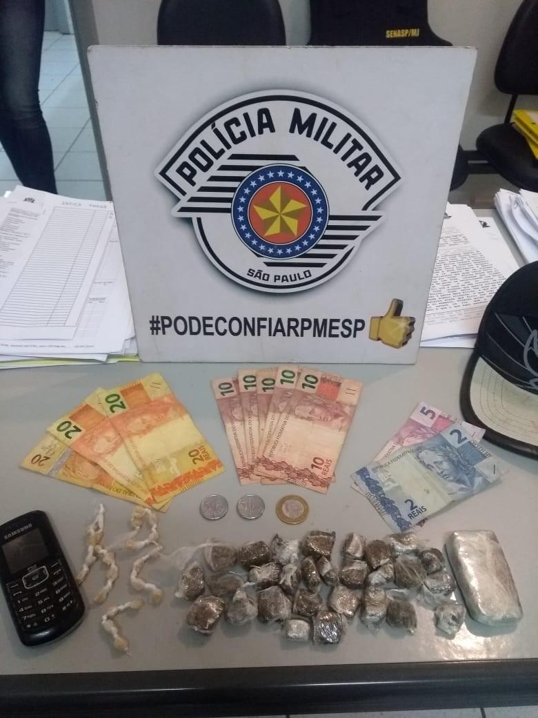Homem é preso por tráfico de drogas em Iacanga - Noticias
