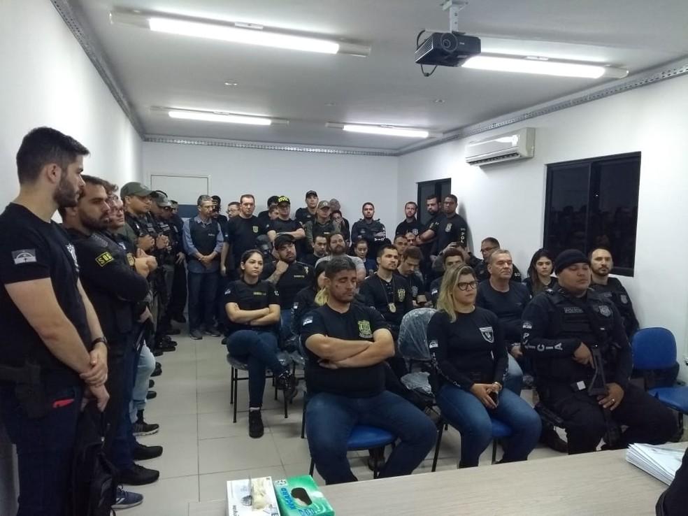 Operação 'Minus', em Caruaru — Foto: Polícia Civil/Divulgação