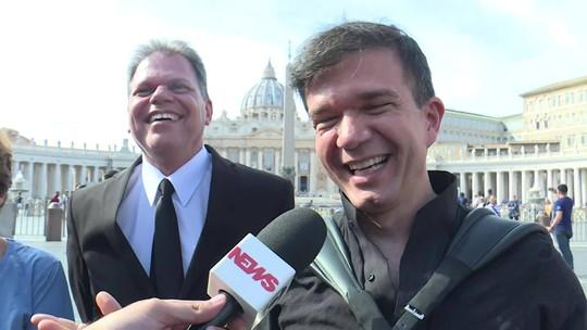 Sanfoneiro que compôs música para Santa Dulce participou de cerimônia no Vaticano