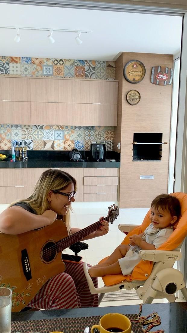 Marília Mendonça e Léo (Foto: Reprodução / Instagram)