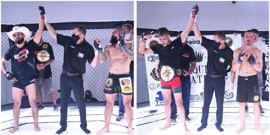Jacara Fight Combat 2 coroa novos campeões nas categorias peso-galo e peso-pena
