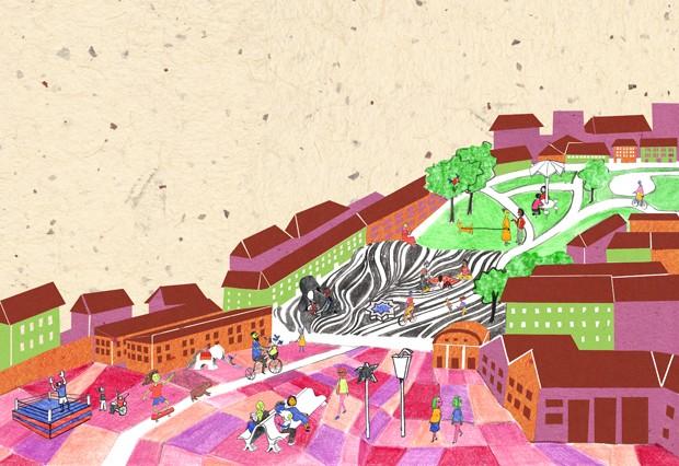 Livro explica arquitetura e urbanismo para crianças (Foto: Divulgação)