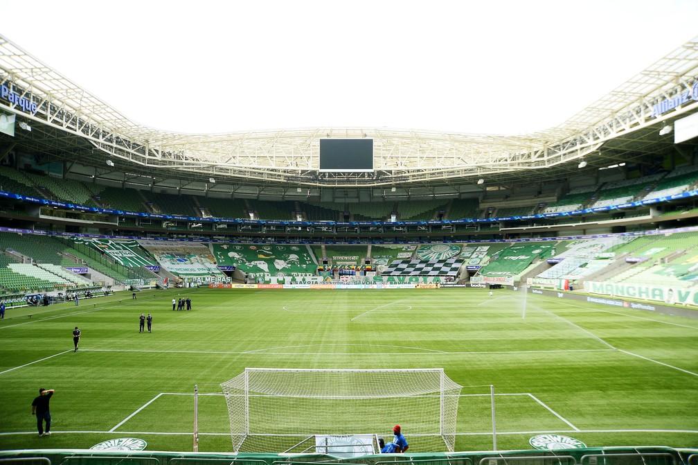 Allianz Parque, o estádio do Palmeiras — Foto: Marcos Ribolli