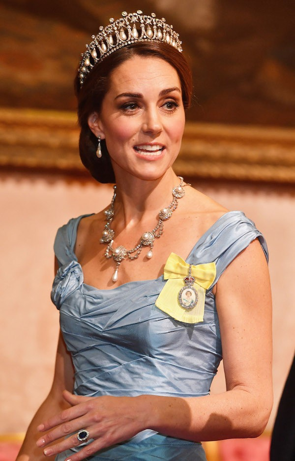 A Duquesa de Cambridge e esposa do Príncipe William, Kate Middleton (Foto: Getty Images)