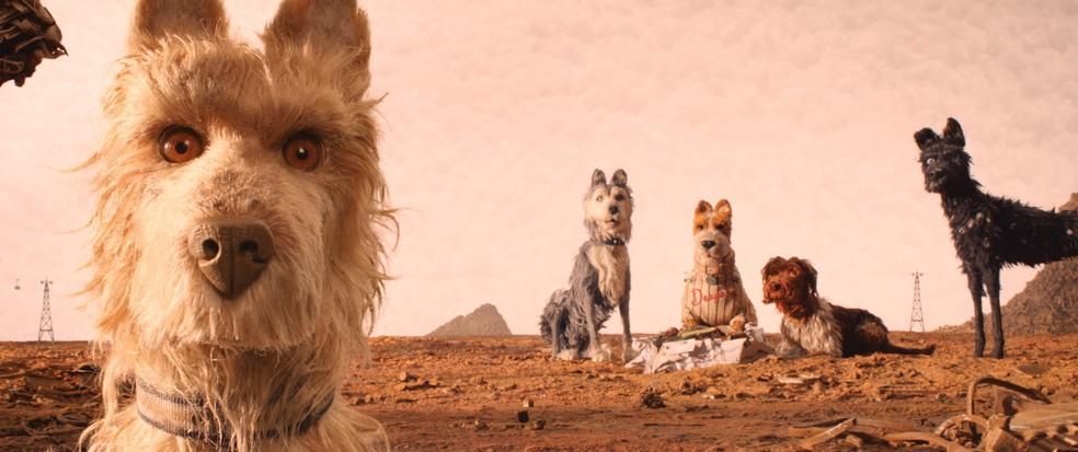 'Ilha dos Cachorros' é a nova animação do diretor Wes Anderson — Foto: Divulgação