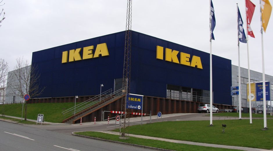 Rede móveis IKEA  (Foto: Wikimedia)