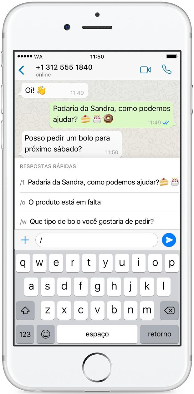 WhatsApp Business para iPhone (Foto: Divulgação)