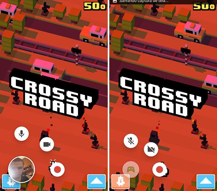 Android pode gravar imagem e voz do usuário junto com o gameplay (Foto: Reprodução/Elson de Souza)