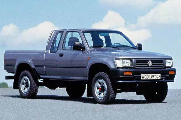 Volkswagen Taro de cabine estendida chegou a ser produzida no próprio Japão (Foto: Divulgação)
