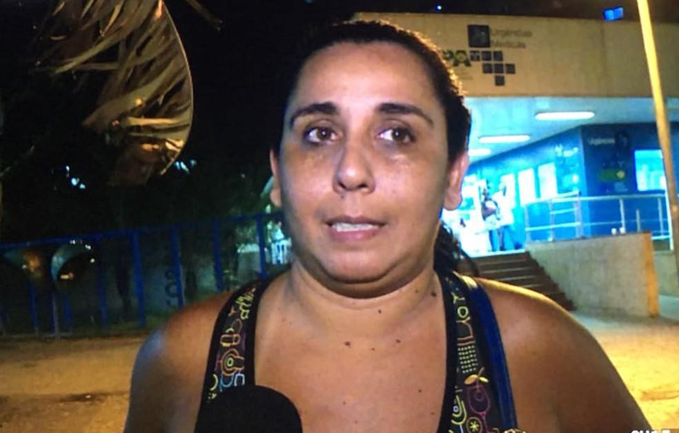 Daris tentou socorrer o bebê atropelado (Foto: TV Globo)