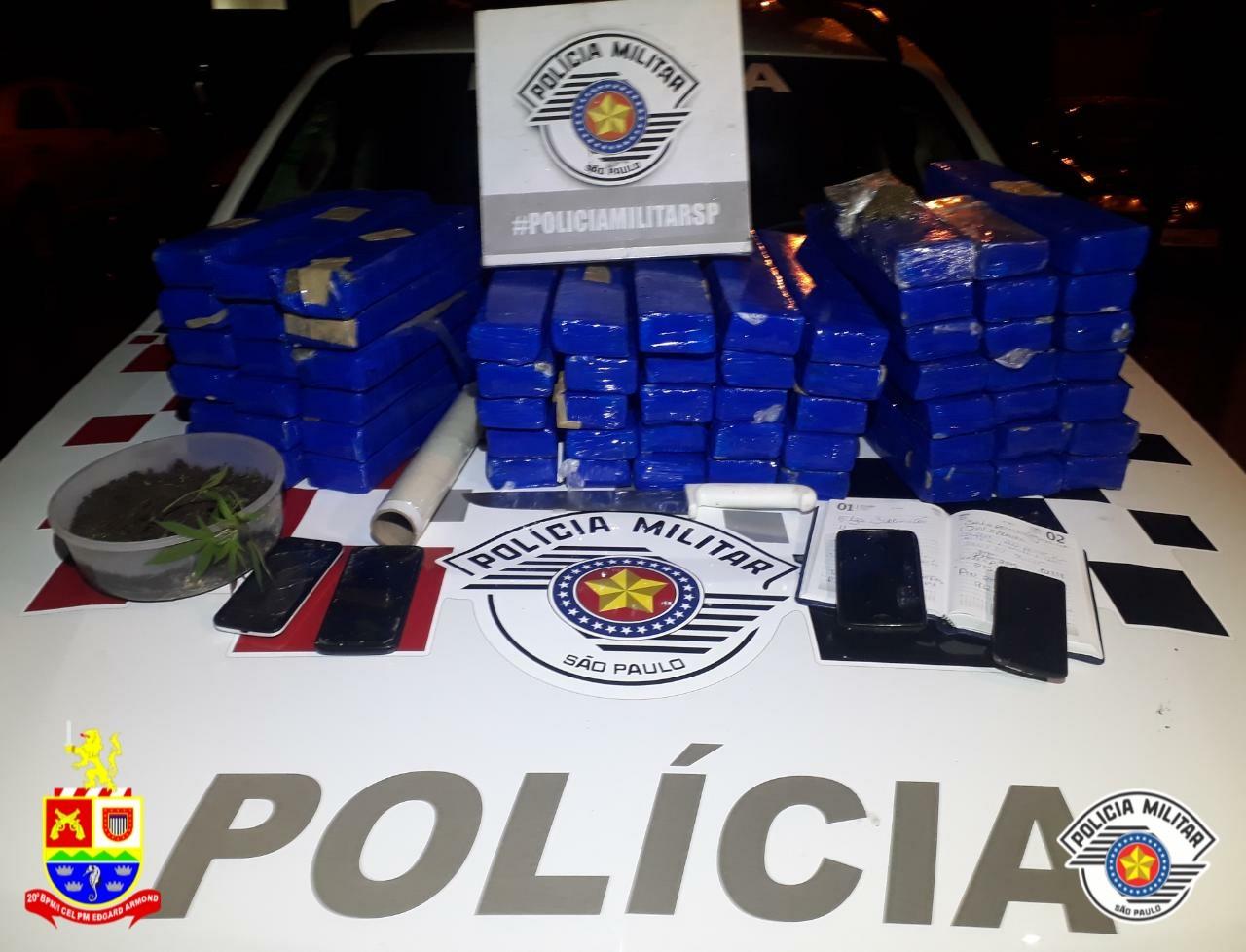 Três são presos com 60 quilos de maconha em Ubatuba, SP - Noticias