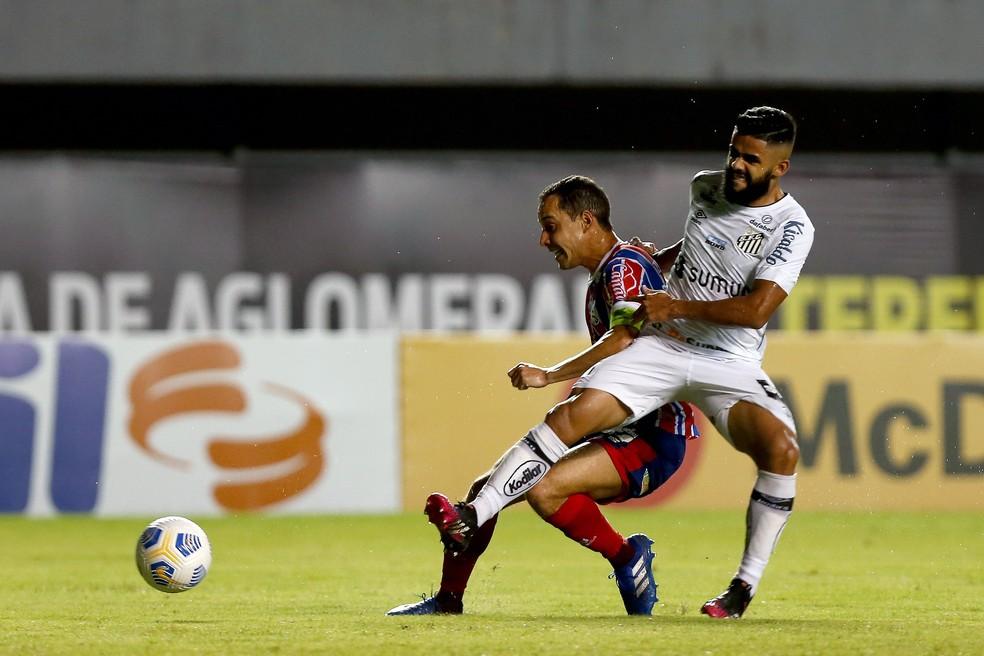 Bahia 3 x 0 Santos: veja os números da partida da 1ª rodada do Brasileirão    bahia   ge