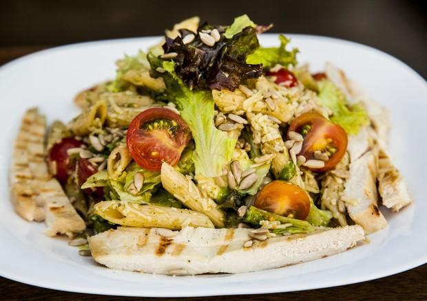 Salada penne, do restaurante Frutaria (Foto: Divulgação)