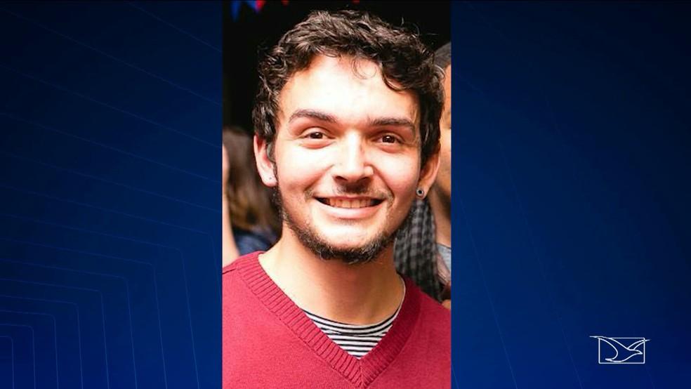 Davi Sousa Bugarim de Melo tinha 26 anos e foi morto pelo pai de sua namorada em São Luís (Foto: Reprodução/TV Mirante)
