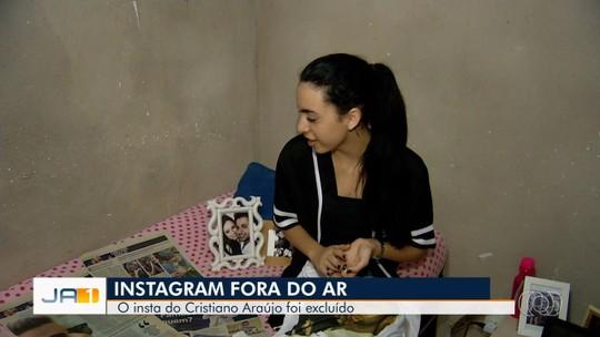 Conta de Cristiano Araújo sai do ar em rede social e fãs lamentam