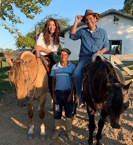 Juliana Paes e Marcos Palmeira (Foto: Reprodução Instagram)