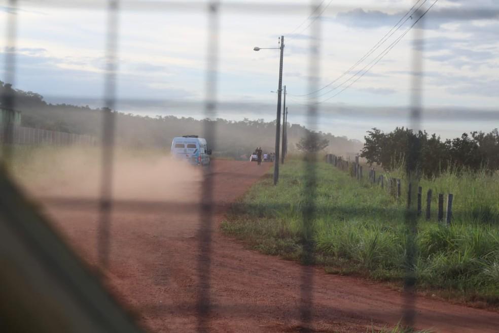 Presos que fugiram durante rebelião na Major César são recapturados — Foto: Andrê Nascimento/G1 PI