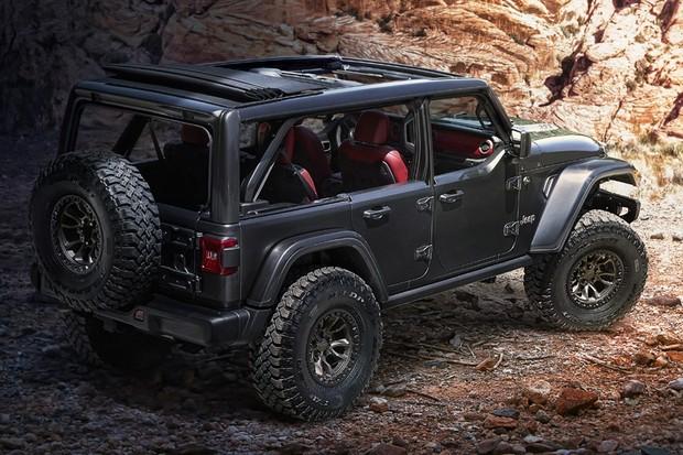 Jeep Wrangler Rubicon 392 Concept (Foto: Divulgação)
