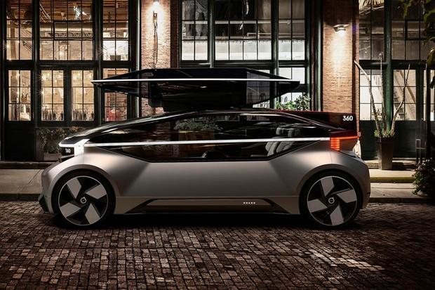 Volvo autonomous car concept 360c (Foto: divulgação)