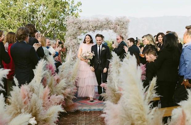 Casamento de Mandy Moore e Taylor Goldsmith (Foto: Reprodução/Instagram)